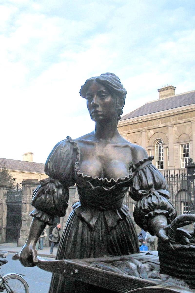 Molly Malone Grafton Street Dublin