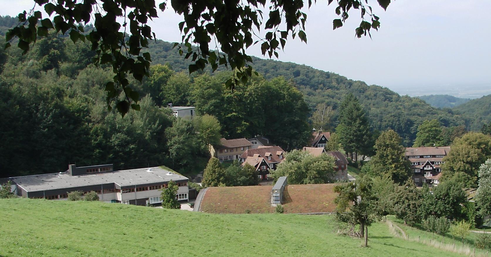 Die Odenwaldschule in Heppenheim-Oberhambach
