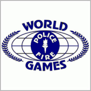 English: Official logo for the World Police & ...