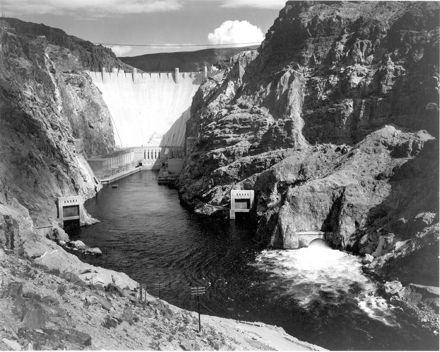 Boulder Dam 1942 - Ansel Adams