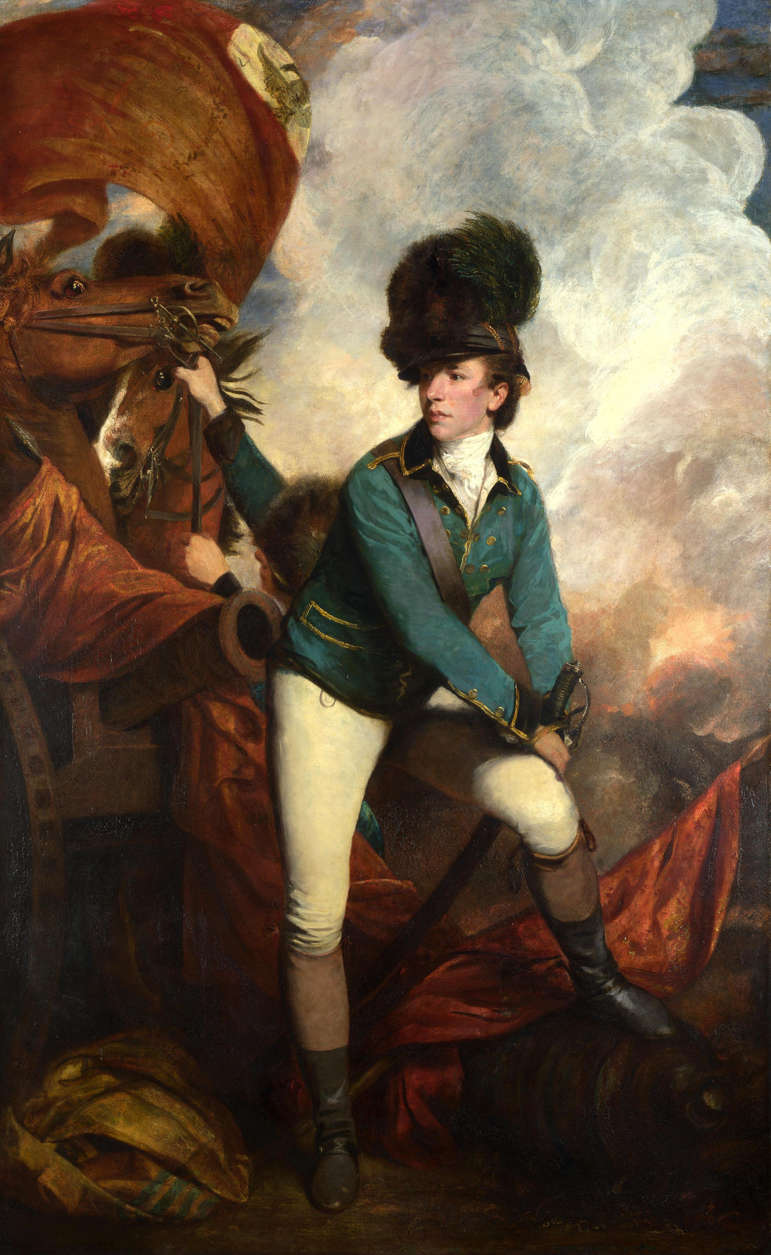 Banastre Tarlteon by Joshua Reynolds