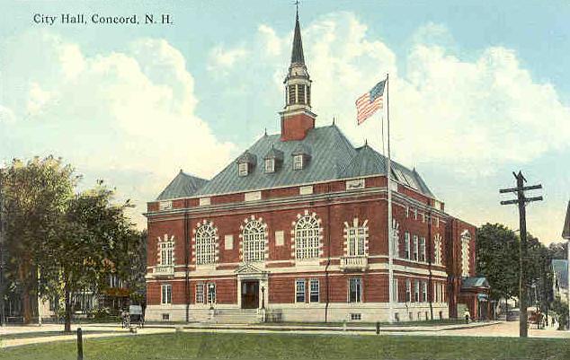 Concord City Hall Ca