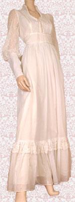 English: Gunne sax gown