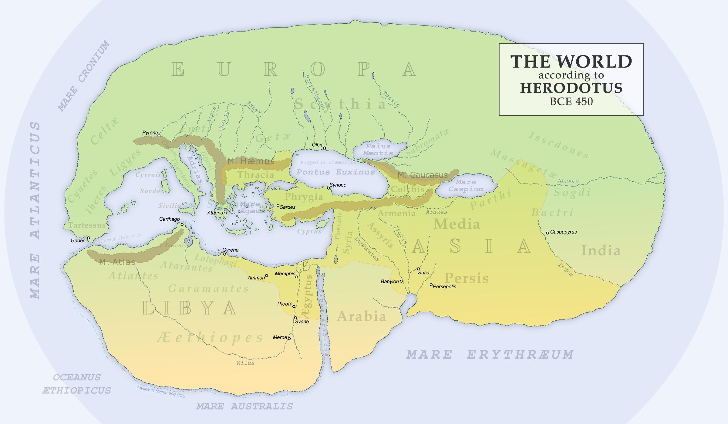 History Moments Herodotus on Ancient Libya