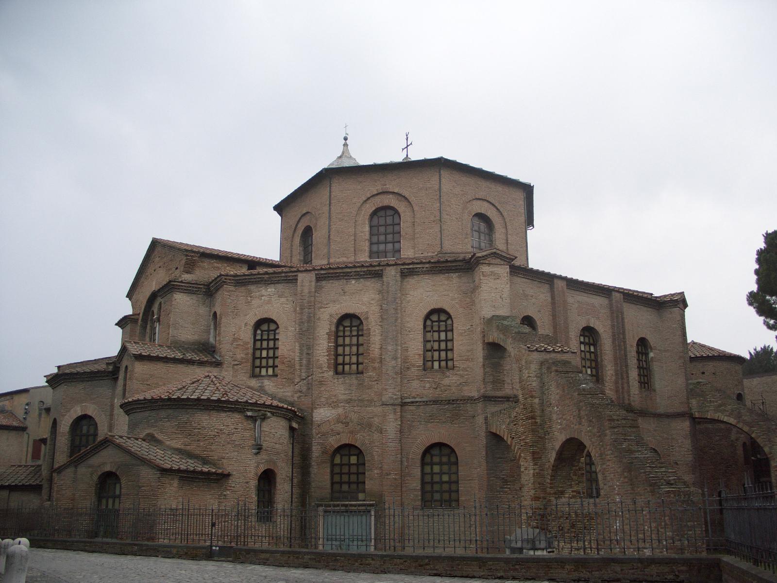 Basilica of San Vitale in Ravenna, Italy.