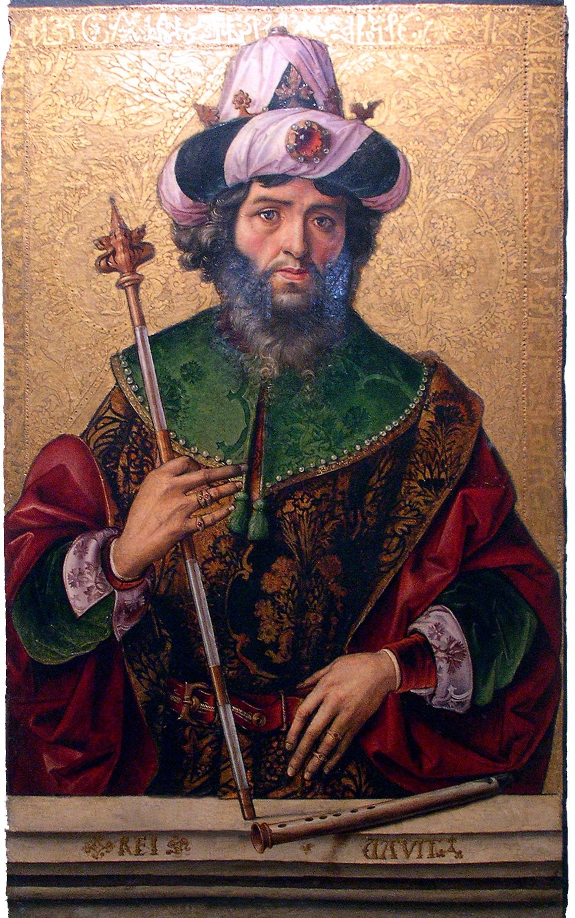 King David, XV century.