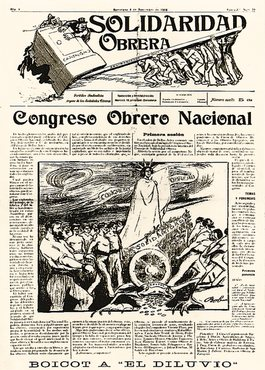 The cover of the 39th issues of Solidaridad Ob...