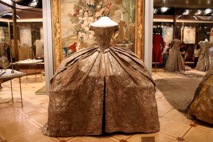 Vestido de bodas de Catalina la Grande