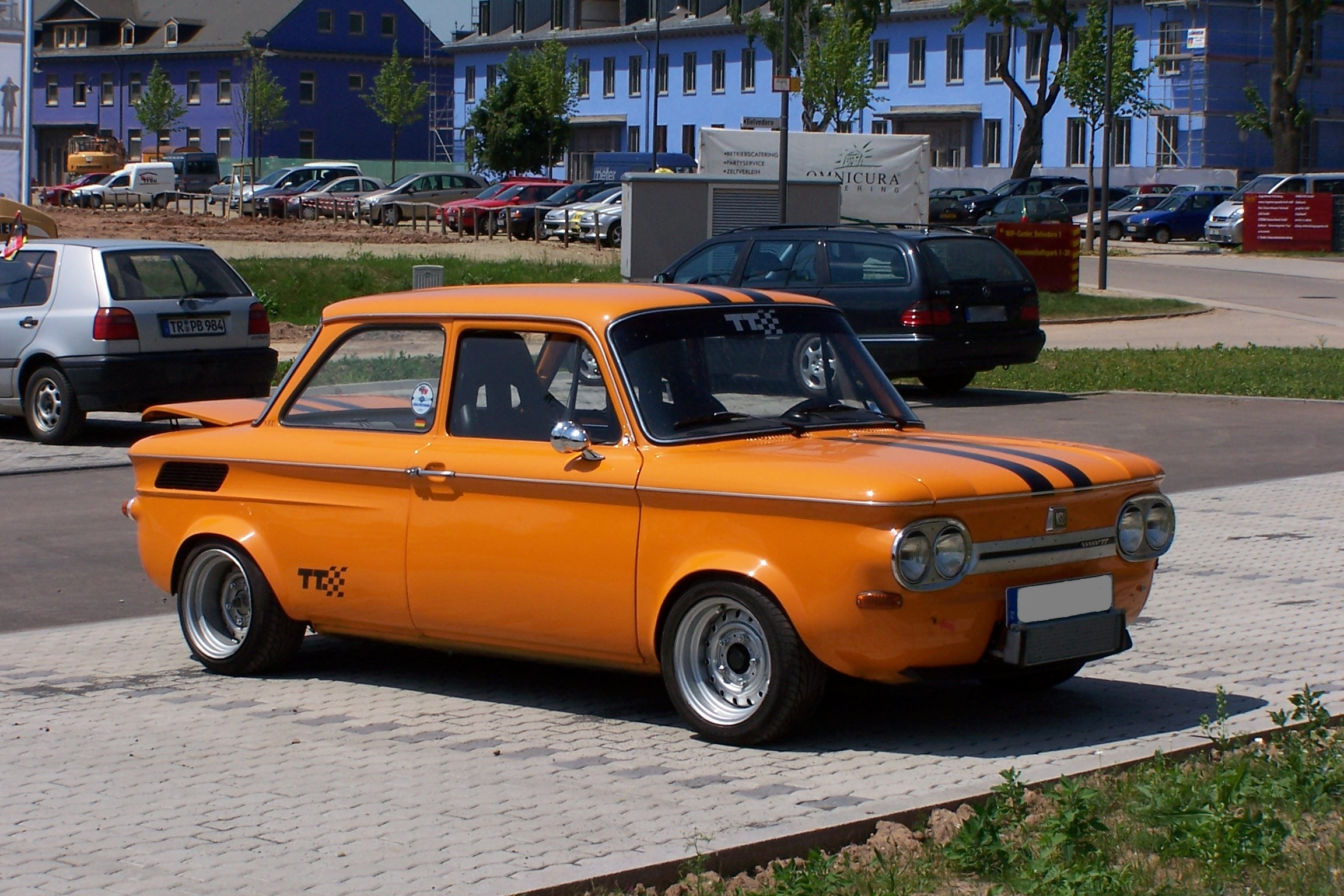 Car colour heat absorption - I Would Heartily Embrace The Return Of Orange Who Can Forget The Classic Orange Nsu Tt S
