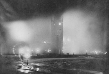 Parliament Ottawa in fire
