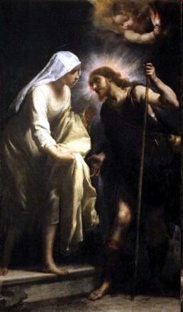 Apparition of Christ-Piligrim to Saint Catheri...
