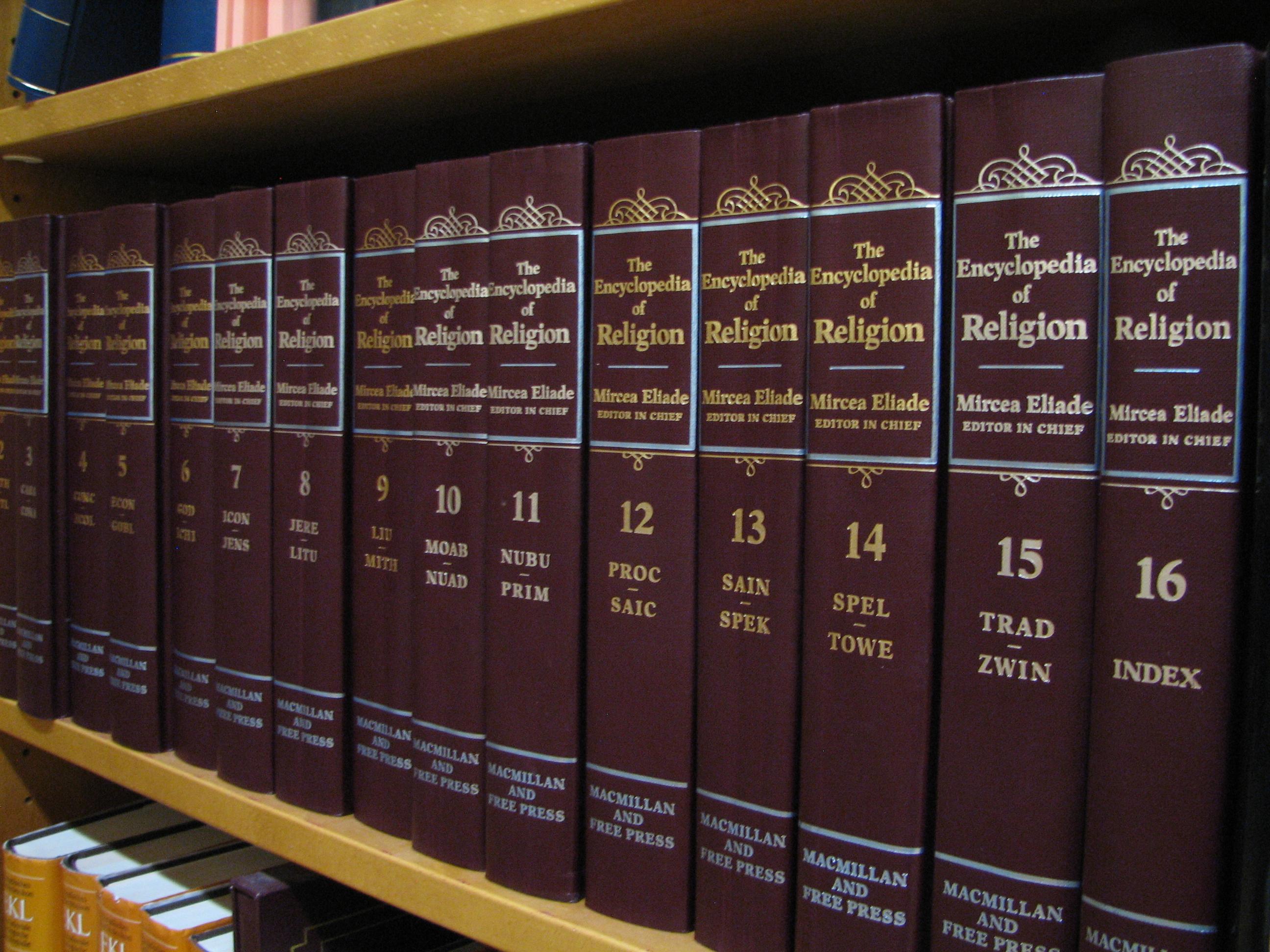 File Encyclopedia Of Religion