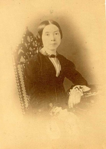 Probably Emily Dickinson, ca. 1850