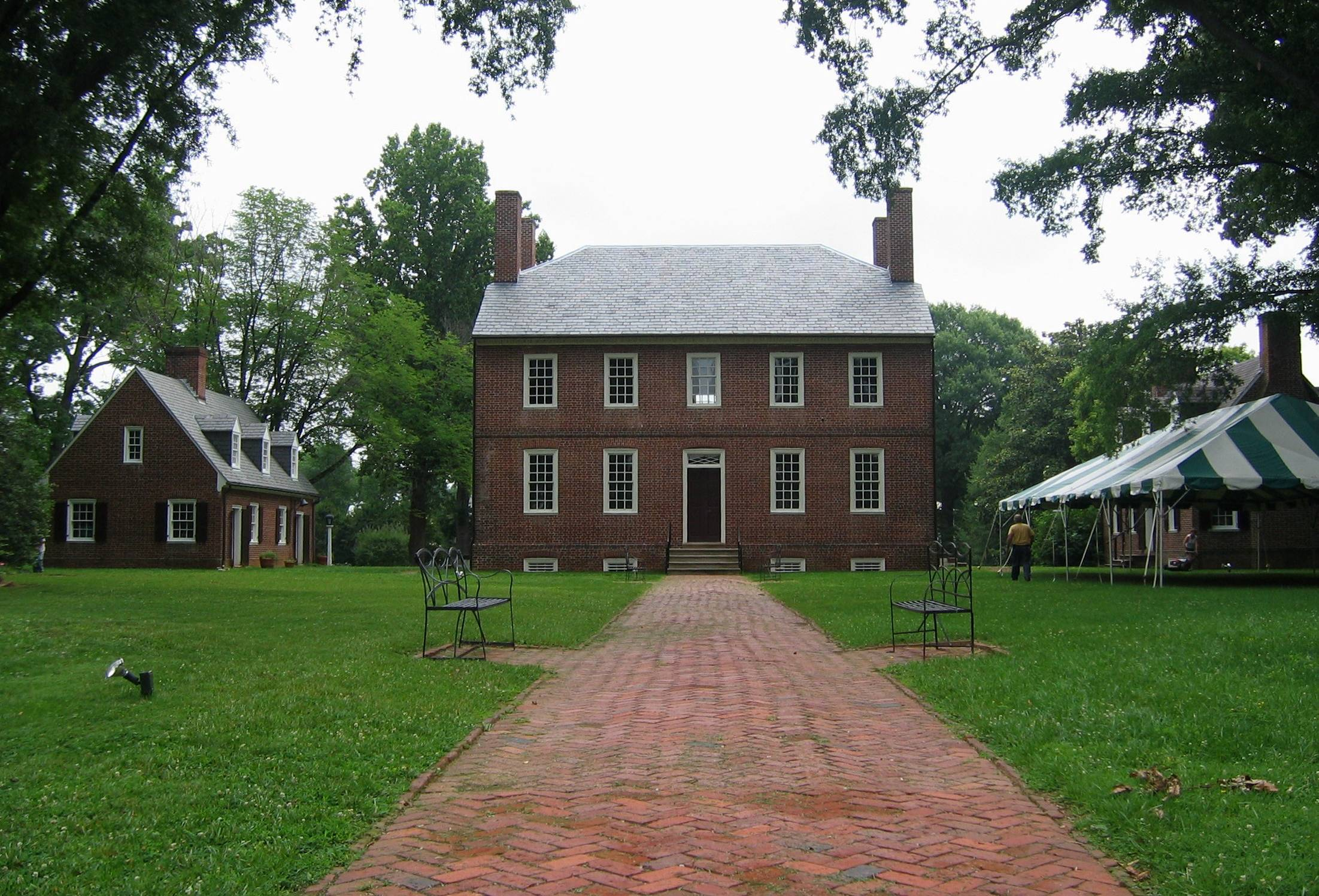 Kenmore Plantation in Fredericksburg, Virginia