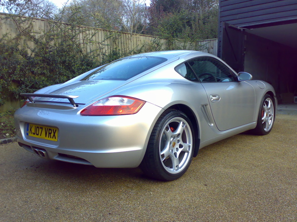 https commons wikimedia org wiki file silver porsche cayman s with spoiler jpg