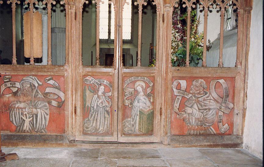 File:St John the Baptist, Higher Ashton, Devon - Screen detail