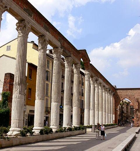 Colonne Di San Lorenzo Wikipedia