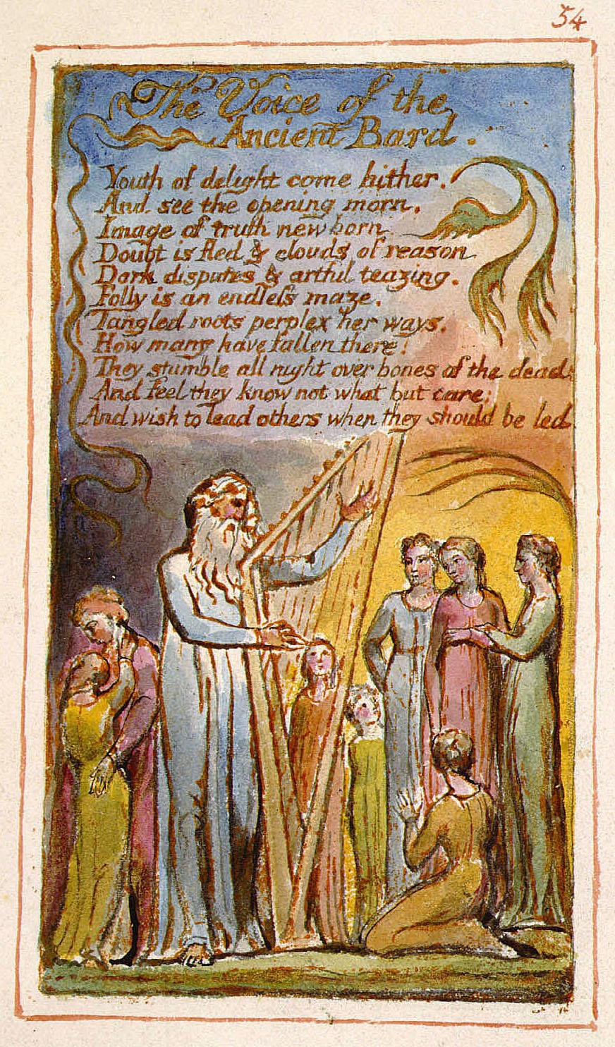 Ancient William Blake Days