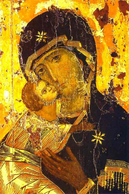 Our Lady of Vladimir (12.Jh.)