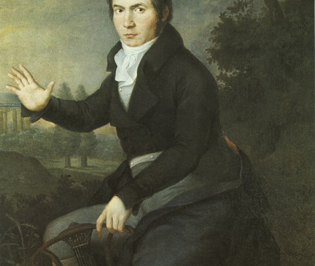 The Complete Painting Depicts Beethoven