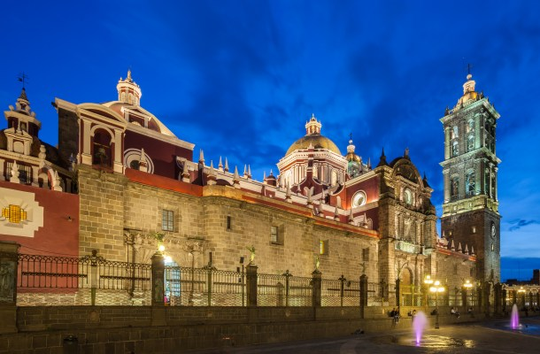 Catedral de Puebla (Oaxaca, México)