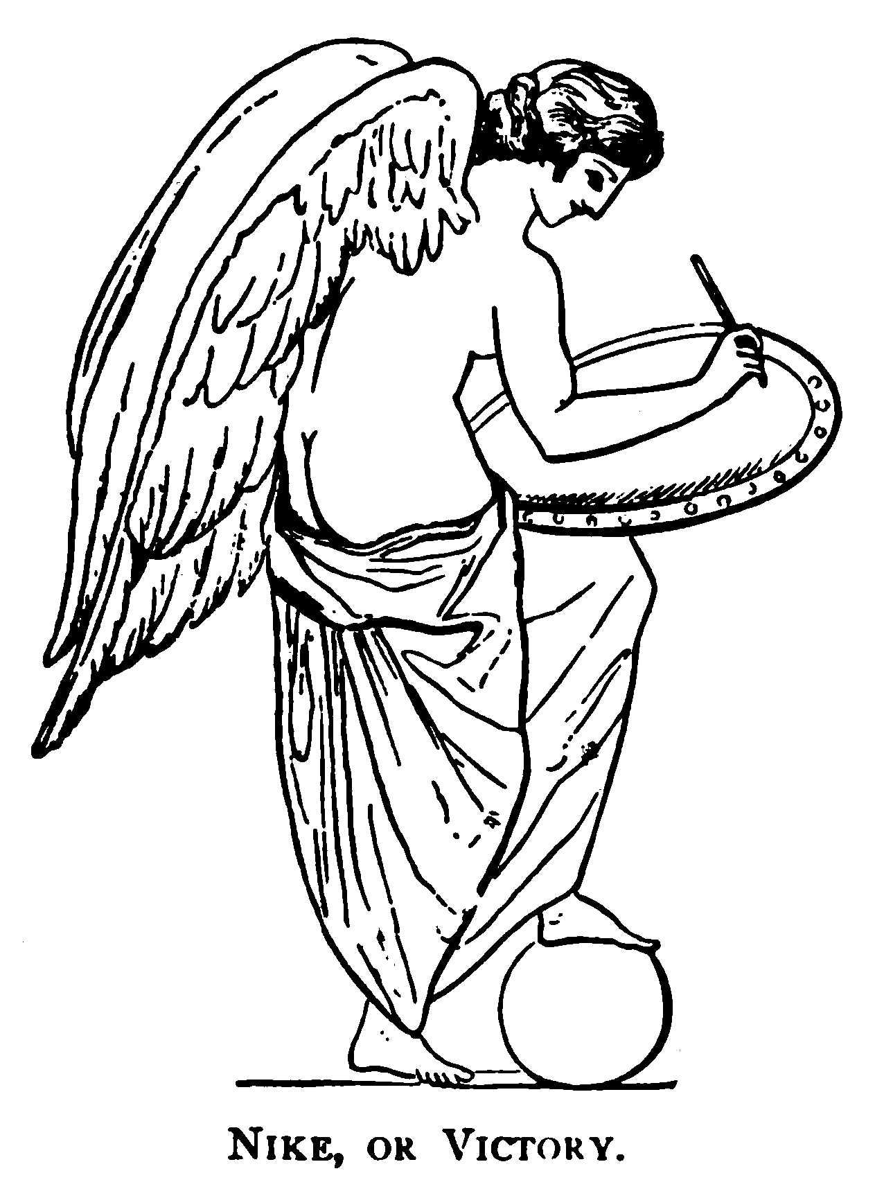 File Nike Or Victory Greek Mythology Systematized