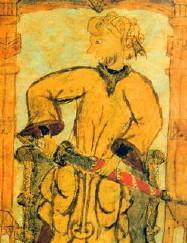 English: Tariq ibn Ziyad, muslim general who c...