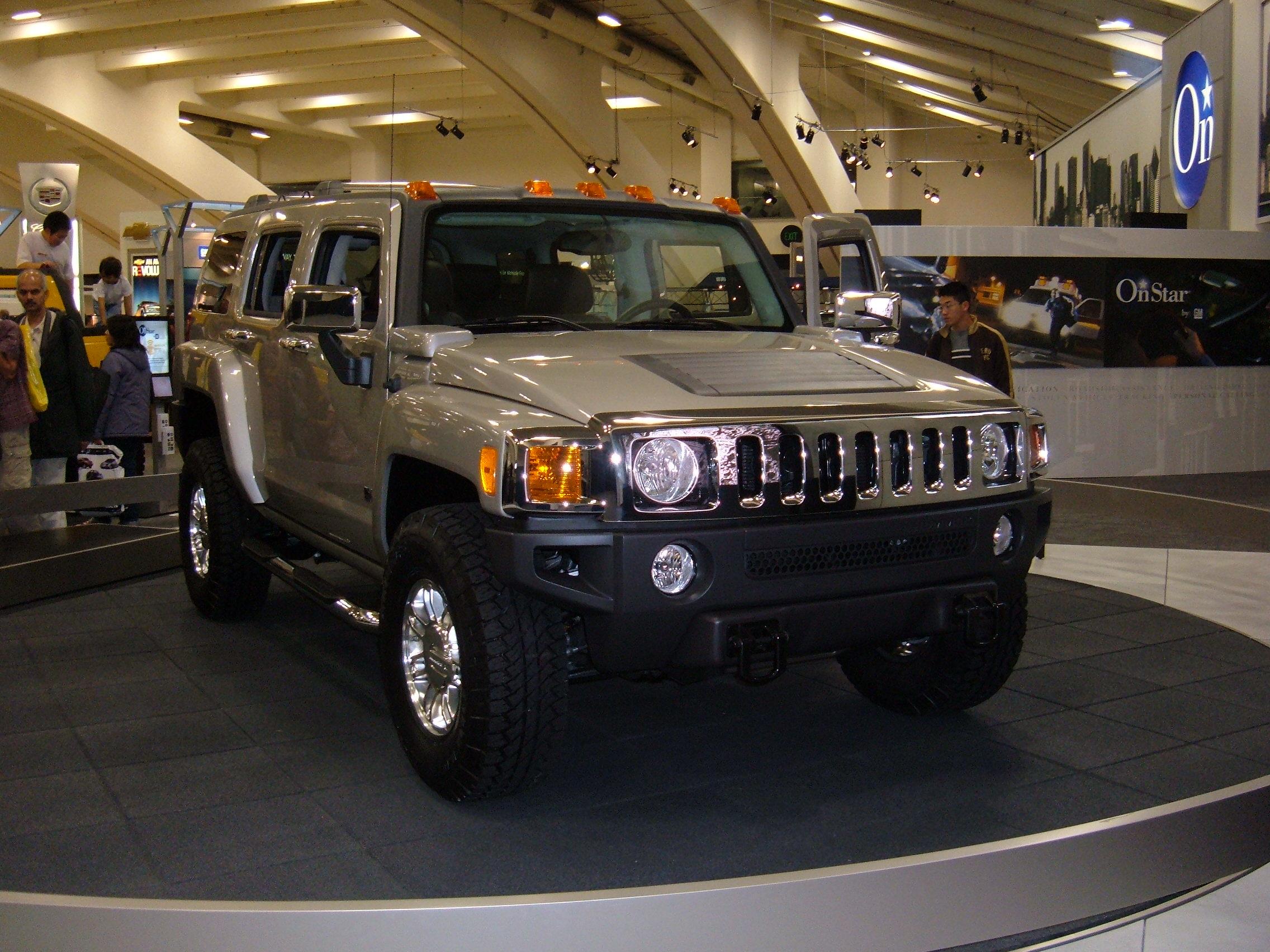 File 2005 silver Hummer H3 JPG Wikimedia mons