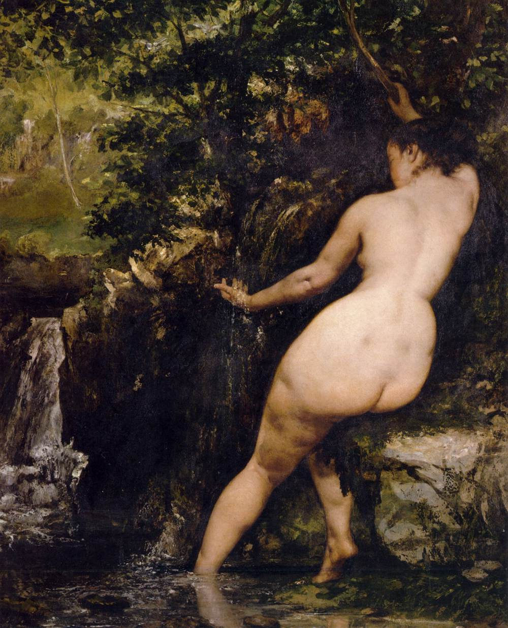 Gustave Courbet - The Source - WGA05506