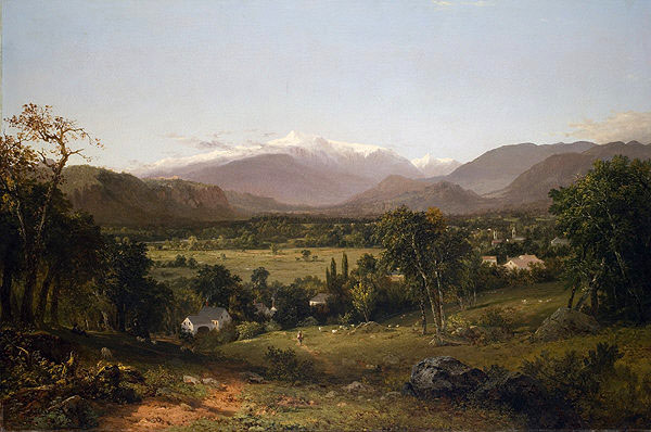 Mount Washington from the Valley of Conway, by artist John Frederick Kensett
