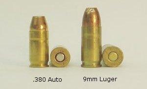 .380 Auto vs. 9mm Luger