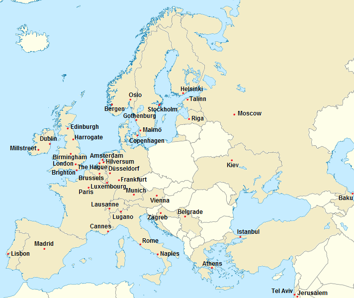 File:Cities and Countries which Eurovision held.png
