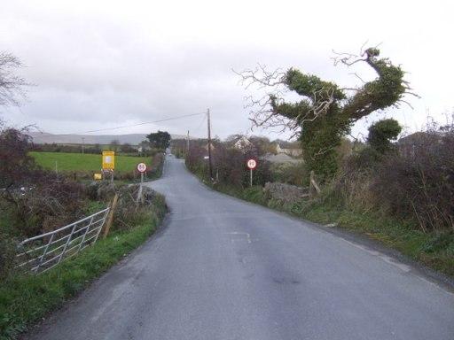 Irish border on the Lenamore Road - geograph.org.uk - 611778