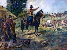 Martín León Boneo - Capataz y peón rebelde, 1901