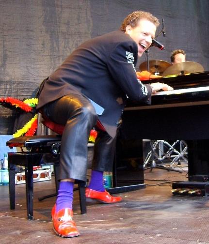 German Boogie-Woogie pianist (Stadtfest)