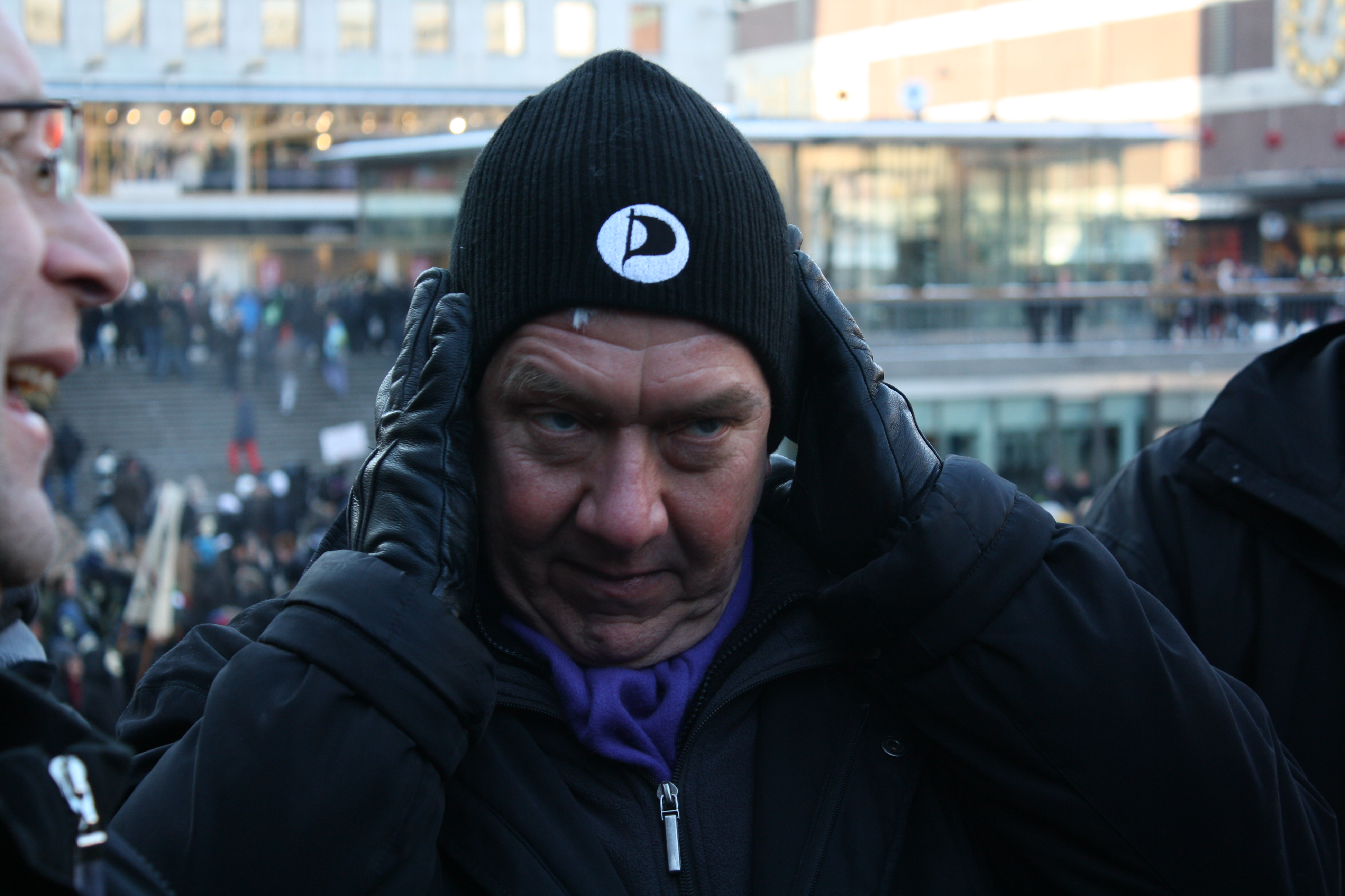 Christian Engström, en av den lilla skaran ACTA-kritiker i EU-parlamentet tillika Piratpartiets första EU-parlamentariker. Foto: Axel Pettersson, CC-BY-SA 3.0