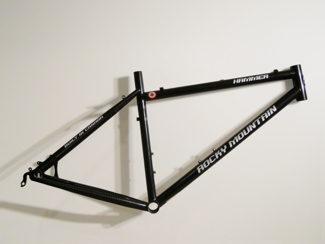 File:Bicycle frame mtb hardtail.jpg - Wikipedia, the free encyclopedia