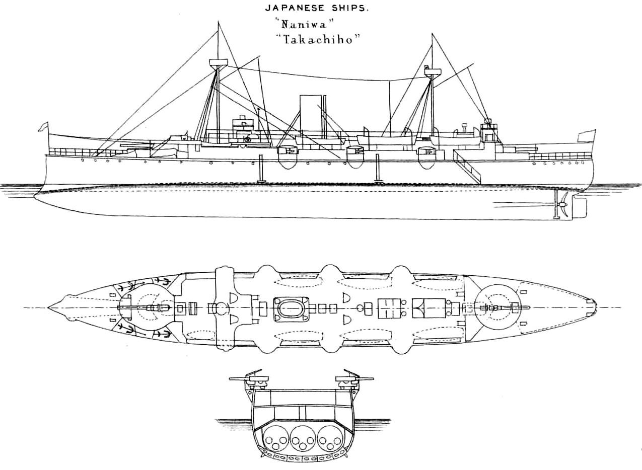 File Naniwa Class Cruiser Left Elevation And Deck Plan