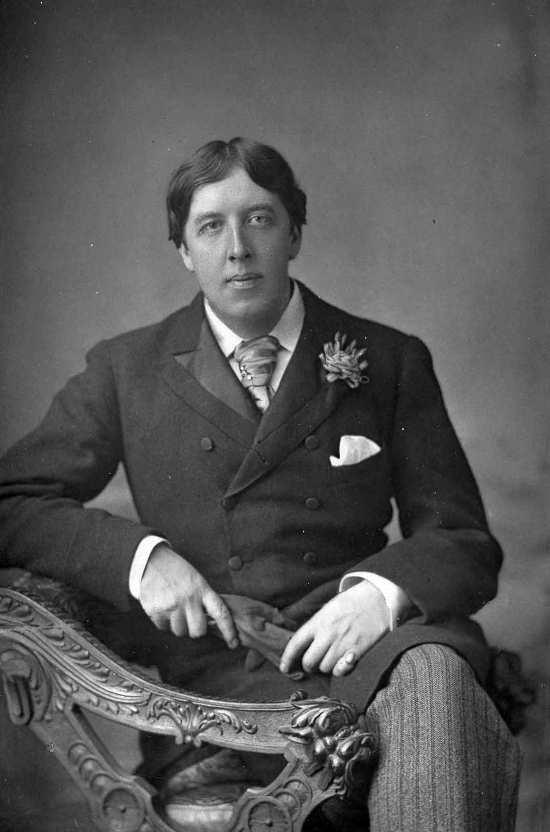 Oscar Wilde in 1889