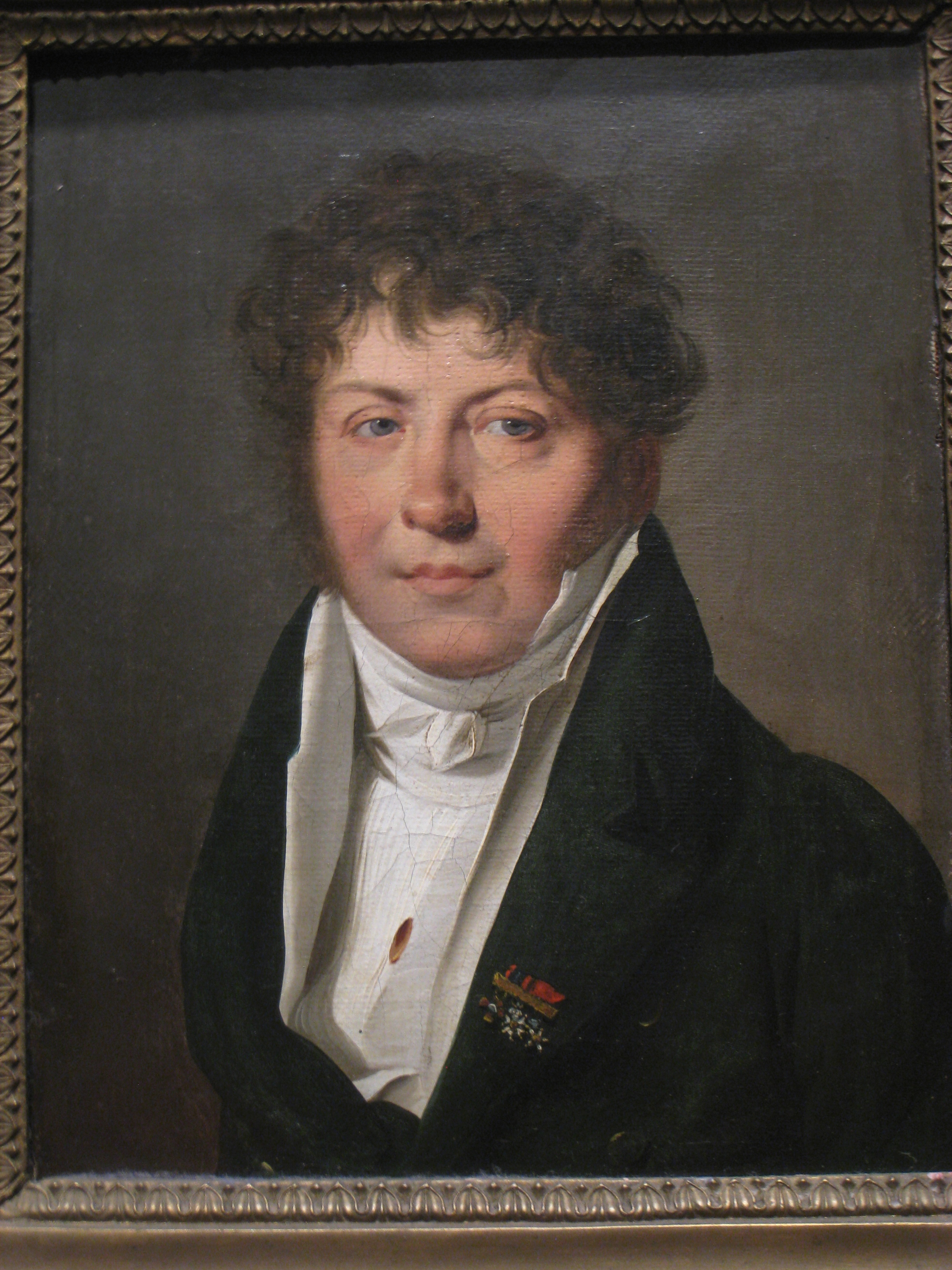 FilePortrait Of A Man By Louis Lopold Boillyjpg