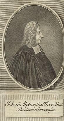 English: Jean Alphonse Turretin (1671-1737)