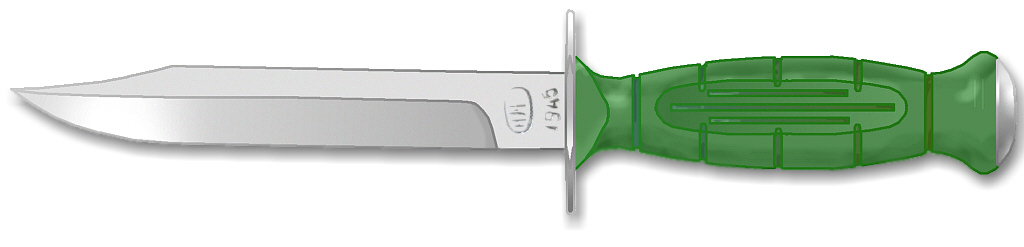 Fighting Knife Template