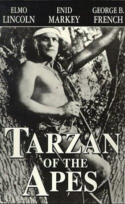Poster for Tarzan of the Apes (film), Image via Wikipedia