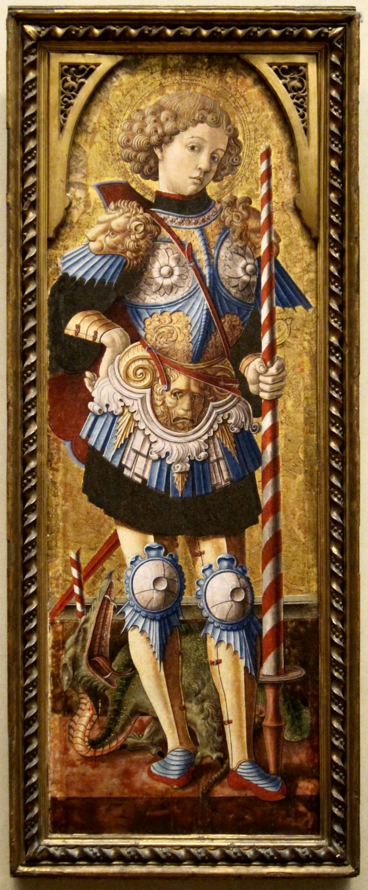 Saint George painting