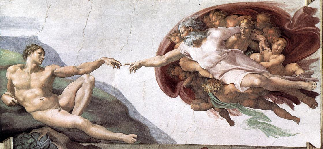 Creation of Adam (1510).
