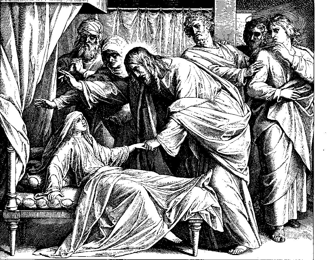 "von Carolsfeld, woodcut for ""Bibel der Bildern"" (Image via Wikipedia)"