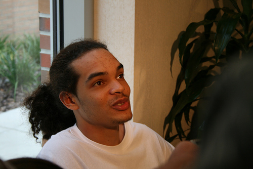 A photo of Joakim Noah in Gainesville, Florida...