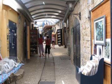 רחוב הגלריות בצפת