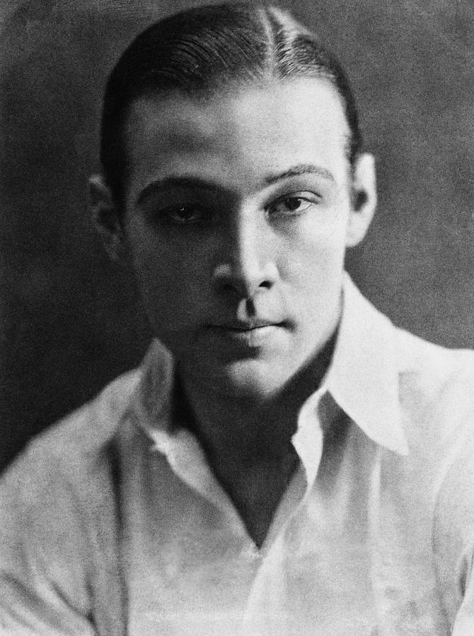 "Rudolph Valentino, one of the first ""teen..."