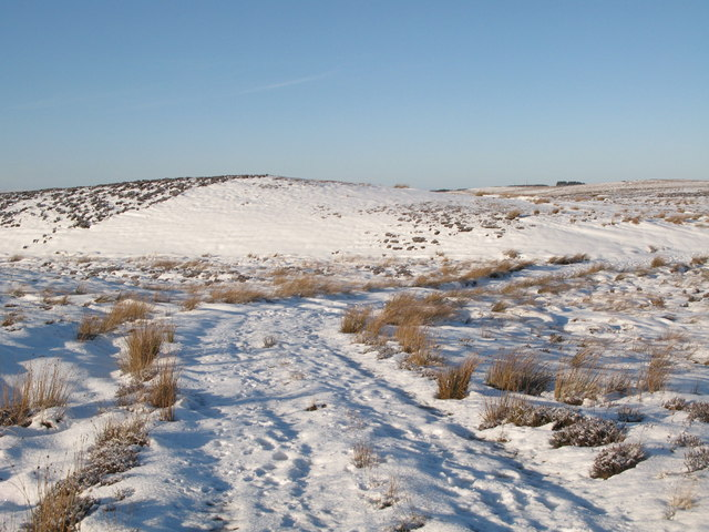 English: Snow covered Foumart Hills